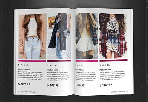 clothing catalog template 25 fashion product catalog templates free premium