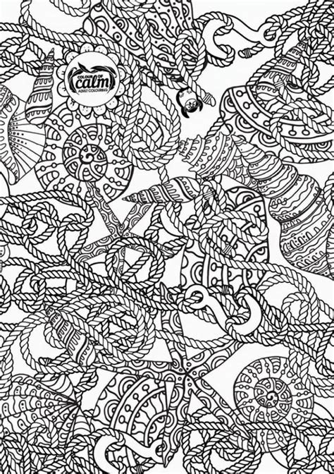 nautical coloring pages for adults nautical coloring page zentangles adult colouring