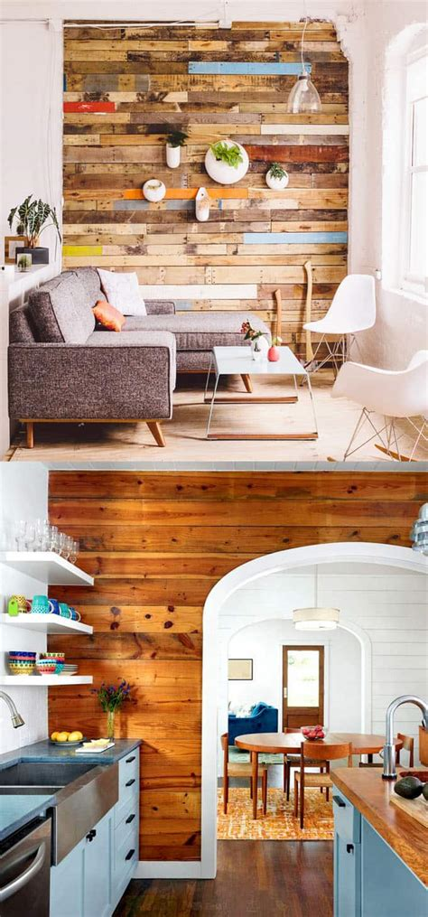 best 30 diy projects your kitchen space 11 diy home shiplap wall and pallet wall 30 beautiful diy wood wall