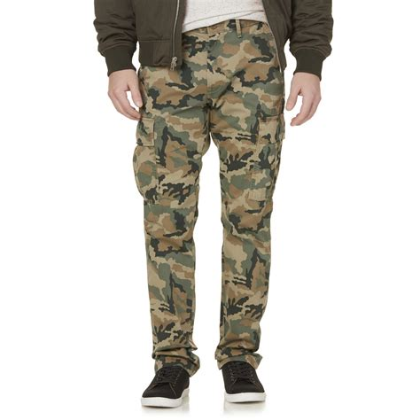 Camouflage Your Shopping by Levi S 541 Athletic Fit Cargo Camouflage