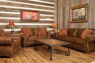 Rustic Livingroom Furniture Old Wooden Wall Panels For Country Style Living Room Decor