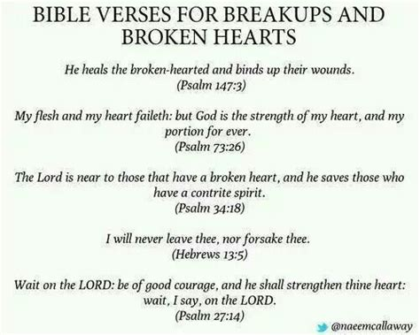 bible verses about divorce to comfort bible verses for breakups and broken hearts break up