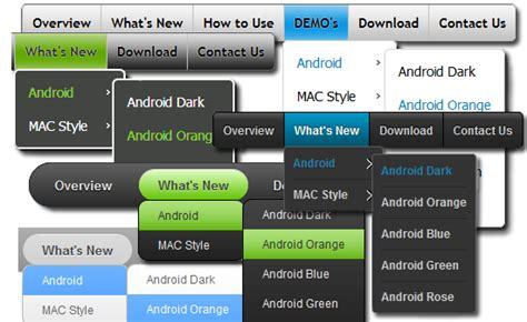 design menu asp net fancy asp net button skins free css menu maker