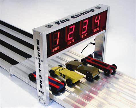 derby track pinewood derby timer best track ch 4 timer ebay
