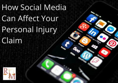 How Social Media Can Help Or Hurt Your Search How Social Media Can Affect Your Personal Injury Claim
