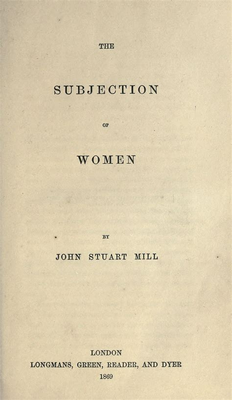 female submission wikipedia the free encyclopedia the subjection of women wikipedia