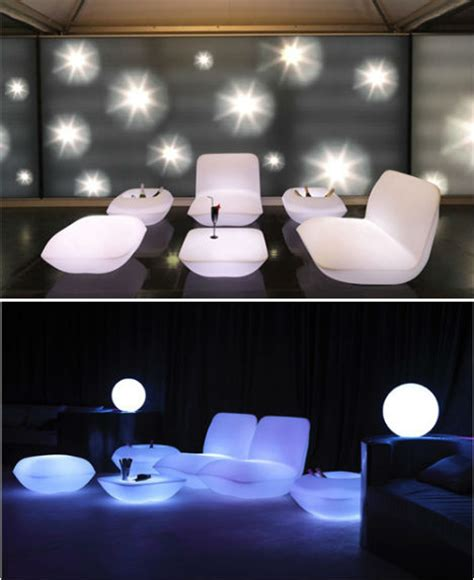 Glow Furniture by Glow In The Home Furniture Lights Up Nights