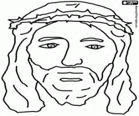 coloring pages jesus crown of thorns bible new testament coloring pages printable games 2