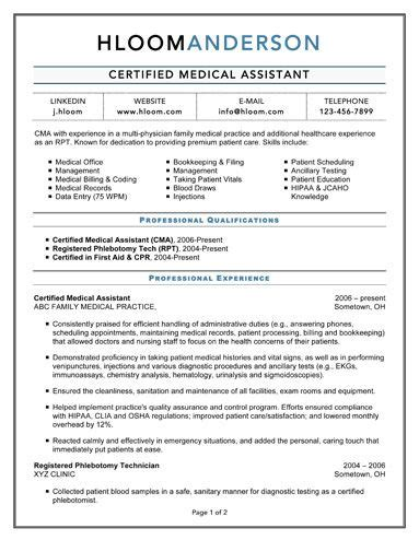 certified medical assistant work work work pinterest