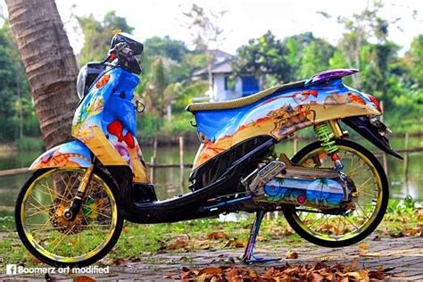 modifikasi thai look related image with modifikasi motor thailook car