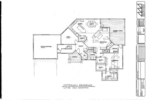 architectural plan the cove at celo mountain architectural design