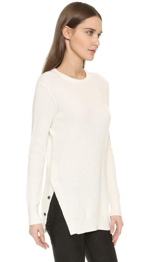 Sweater Rei Equipment Rei Crew Neck Sweater In White Lyst