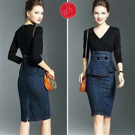 Sale Fashion Wanita Dress Terbaru baju mini dress pendek fashion wanita kombinasi bahan