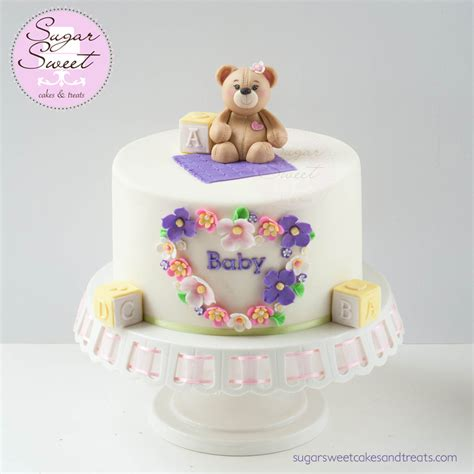 Baby Shower Bears by Teddy Baby Shower Cake Cakecentral