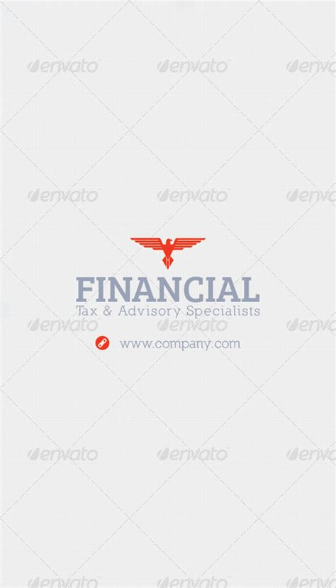 Financial Business Card Template by Financial Business Card Template By Grafilker Graphicriver