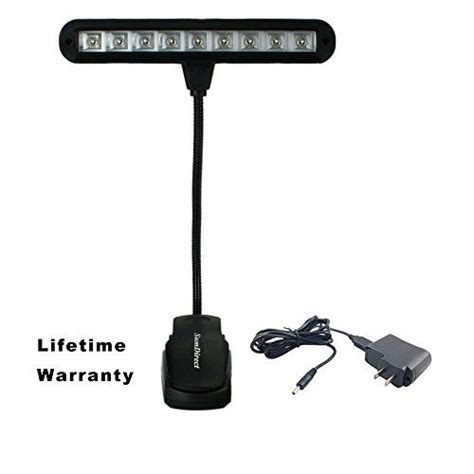 music stand light led rechargeable sumdirect clip on rechargeable led music stand light with