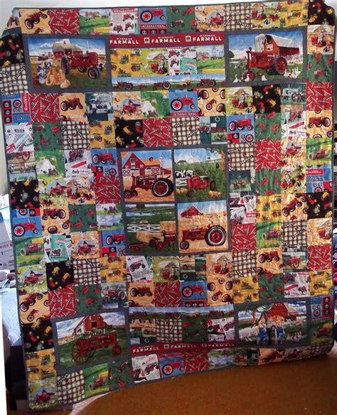 Landscape Fabric Deere Best 20 Tractor Quilt Ideas On