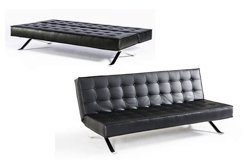 Modern Leather Sofa Beds Santa Fe Contemporary Leather Sofa Bed
