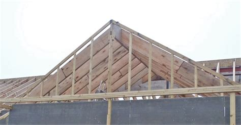 front porch top plate complete plus gable wall framework