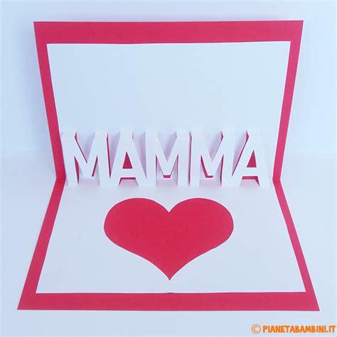 lettere festa della mamma biglietto pop up per la festa della mamma da stare