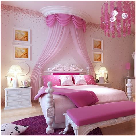 bedroom ideas girls 15 cool ideas for pink girls bedrooms home design