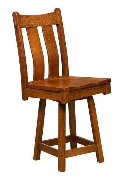 Mission Swivel Bar Stools by Beaumont Mission Swivel Bar Stool From Dutchcrafters Amish