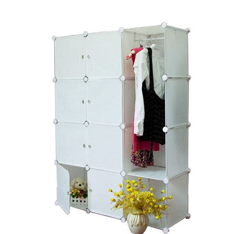 plastic armoire wardrobe diy pp plastic simple wardrobe id 6965154 product details