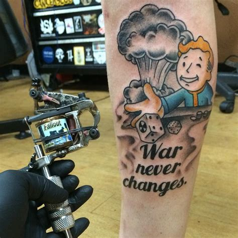 fallout shelter game tattoo venice tattoo art designs