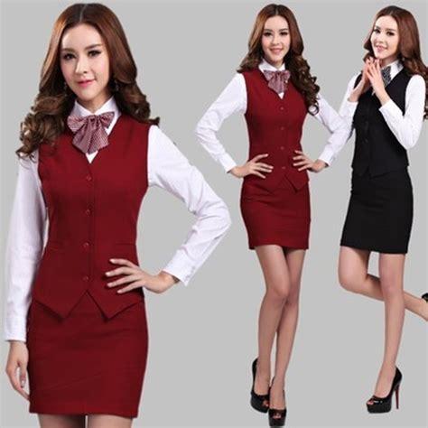 Big Size Vest Skirt Set 6228 by Aliexpress Buy 2015 Summer Work Wear Suits