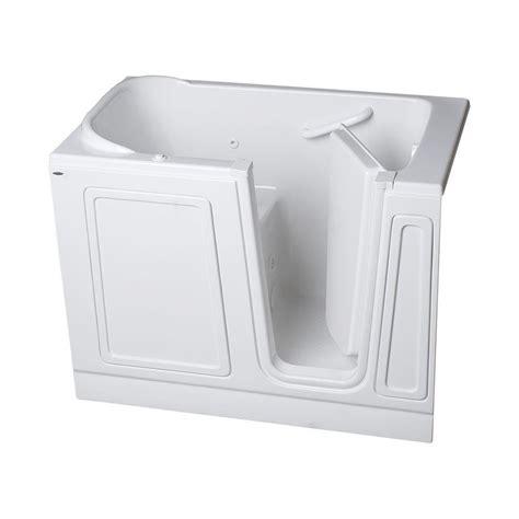 american standard acrylic bathtubs american standard acrylic standard series 51 in x 30 in walk in whirlpool tub in