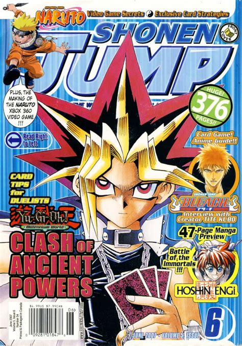 Shonen Jump Komik Vol 54 Shonen Jump 2002 54 Juin 2007 Volume 5 Issue 6