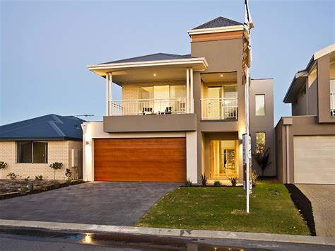 small or narrow lot homes brisbane home builders
