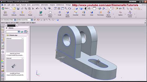 solidworks 2013 tutorial simple animation youtube siemens nx cad basic modeling training tutorial for