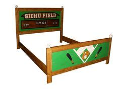 Baseball Toddler Bed by Toddler Bed Frame Sports Theme Baseball Football