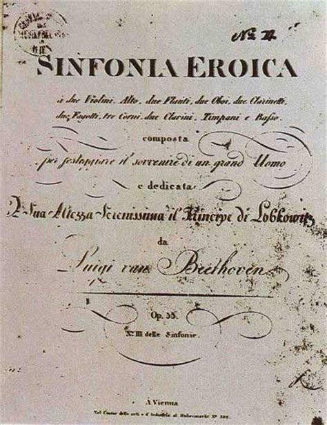 beethoven s eroica the great symphony books beethoven s eroica original score