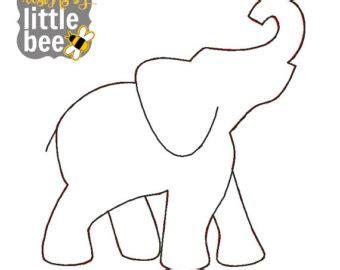 Elephant Decor by Elephant Outline Etsy