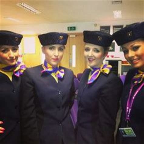 monarch airlines flykandi flight attendant uniforms
