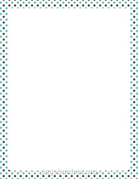 dot pattern border polka dots border clip art 61