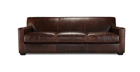 Mitchell Gold Bob Williams St Jean Leather Collection Mitchell Gold Leather Sofa