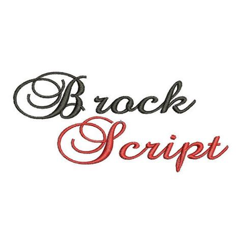 Wedding Font Brock Script by 44 Best Images About Embroidery Ideas For Wedding Napkins