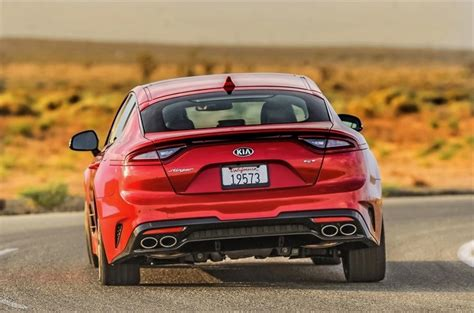 Most Expensive Kia Most Expensive 2018 Kia Stinger Is Priced At 52 300