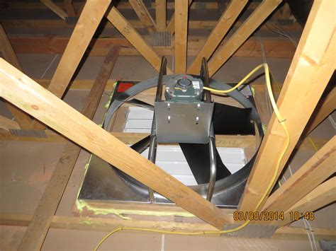 who installs attic fans save money with a whole house attic fan