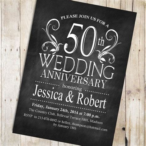 Best 25  Anniversary invitations ideas on Pinterest   40