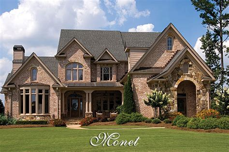 french country home design luxury french country house plan the monet