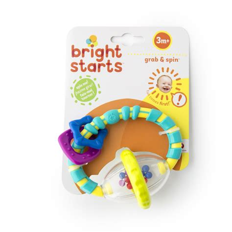 Bright Starts Rattle And Spin bright starts grab and spin rattle