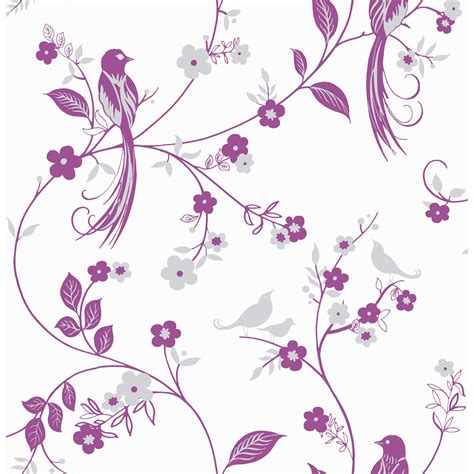 pink wallpaper wilkinsons wilko bird wallpaper pink 50 607 at wilko com