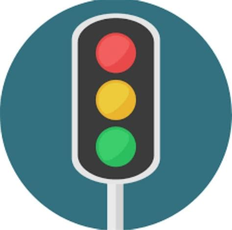 why are and green colors why do traffic lights yellow and green color
