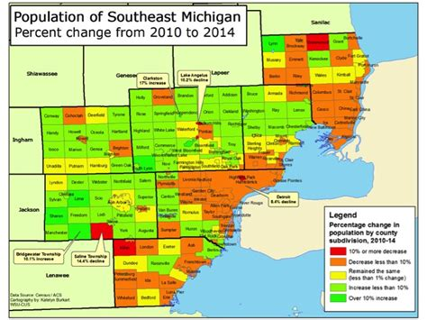 Wayne County Mi Records Detroit Population