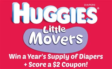 Huggies Sweepstakes - huggies little movers diapers movingmoments sweepstakes raising whasians