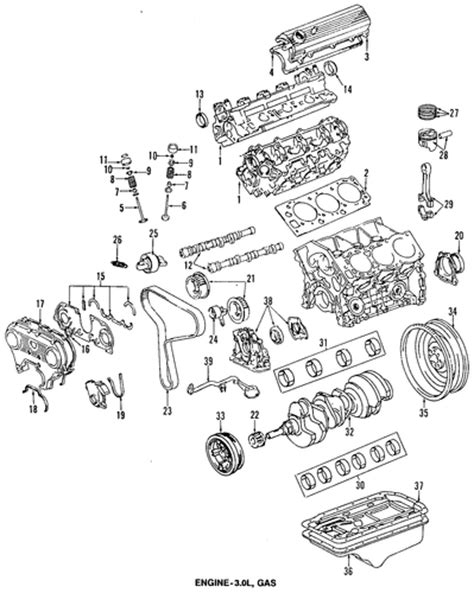 Toyota 4runner Parts Engine Parts For 1995 Toyota 4runner